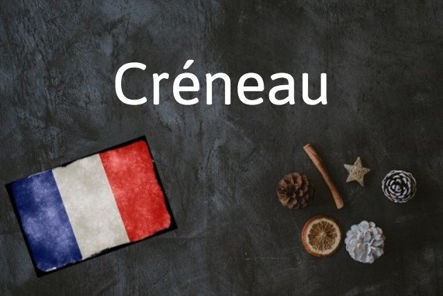 French word of the day: Créneau