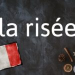 Word of the day: La risée