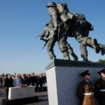 British Normandy veterans have finally got their own memorial, but cannot travel to France to visit it