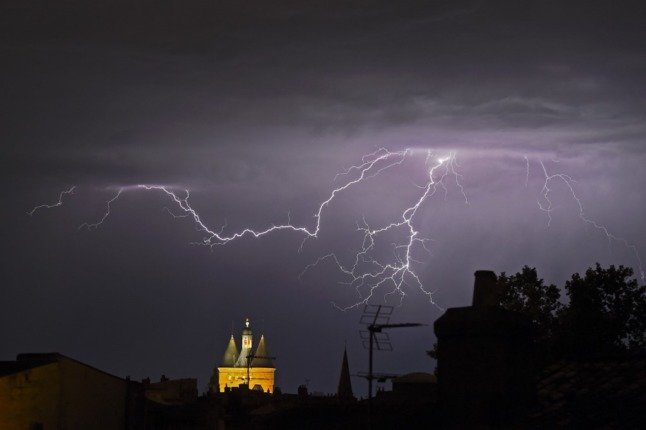 Swathes of France on alert as storms spread across the country