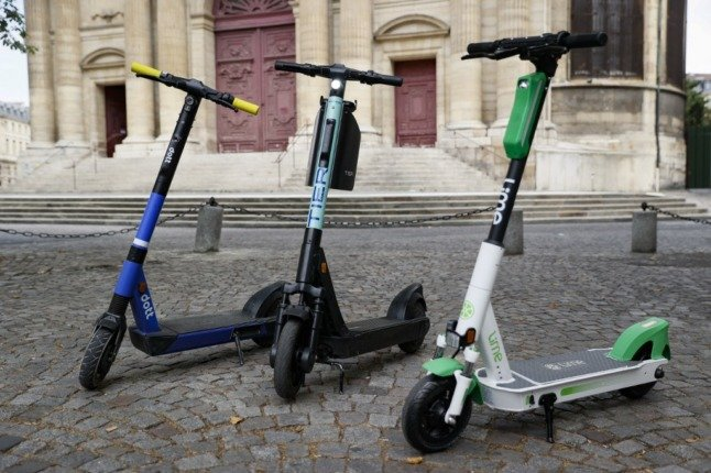 Two held as Paris pedestrian dies after being hit by electric scooter
