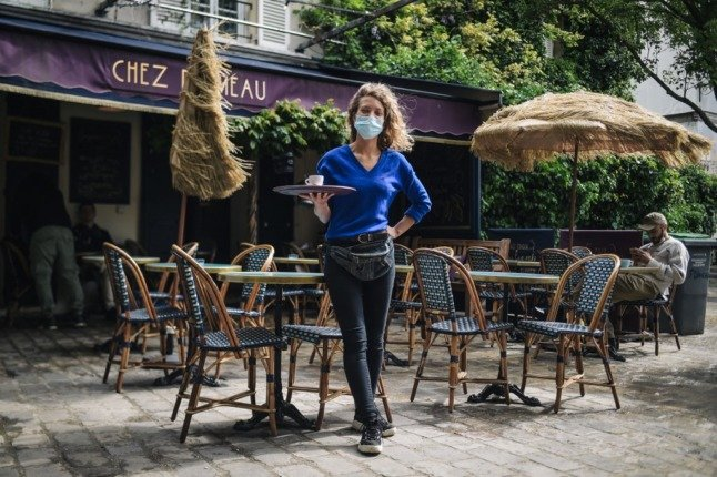 QR codes and sign-ins – how France's reopened restaurants keep track of customers