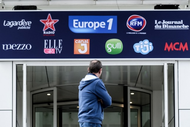 French radio journalists strike in protest over plans to merge with 'France's Fox News'