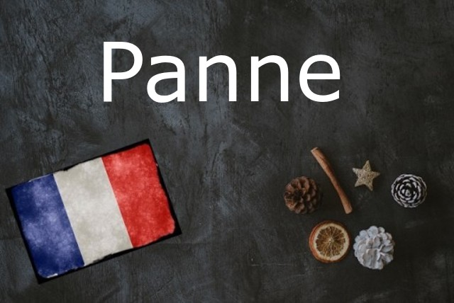 French word of the Day: Panne