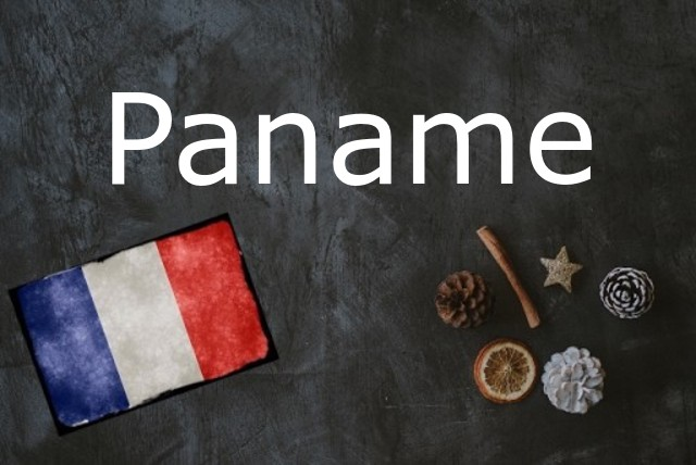Word of the day: Paname