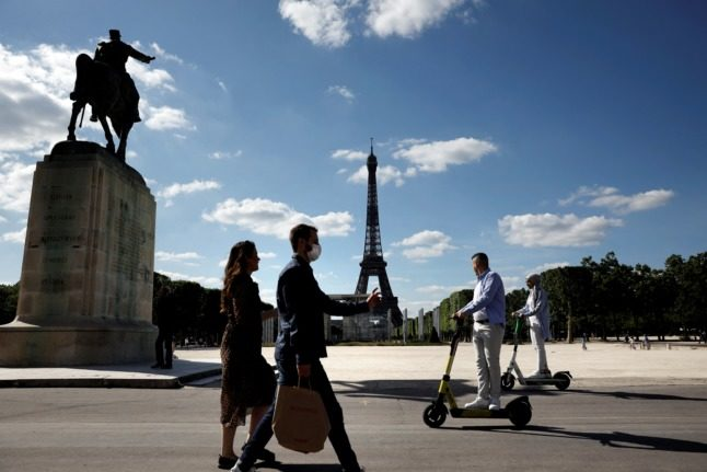 Cycle lanes, scooters and terraces – is Paris still safe for pedestrians?