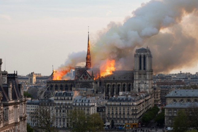 Paris faces legal claim over lead pollution from Notre-Dame fire