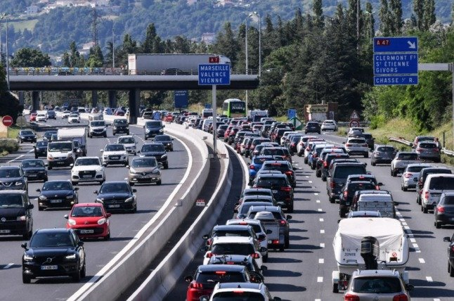 The roads to avoid on France's 'worst travel weekend' of the summer