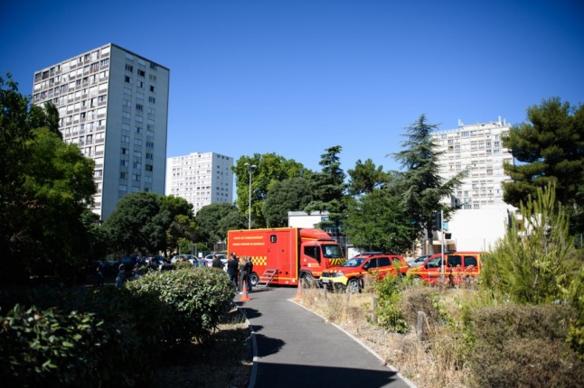 Three migrants die in fire in France's Marseille