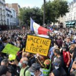 IN PICTURES: Over 200,000 people protest against health pass in France