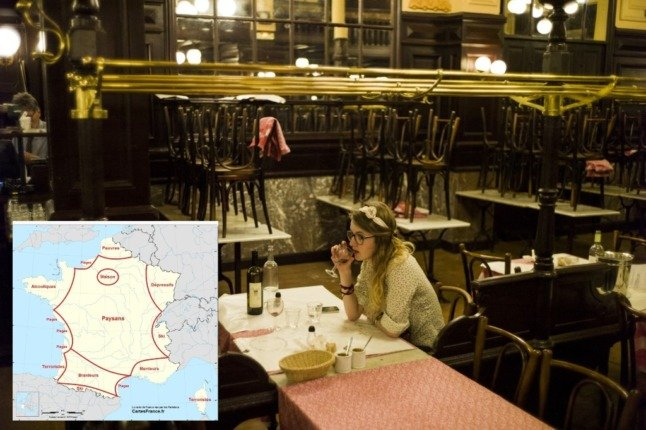 Snobs, beaches and drunks – 5 things this joke map teaches us about France