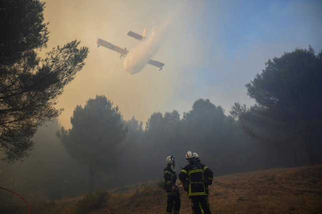 What to do if you see a wildfire in France