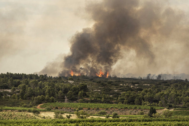 'Very severe risk': South of France braces for wild fires