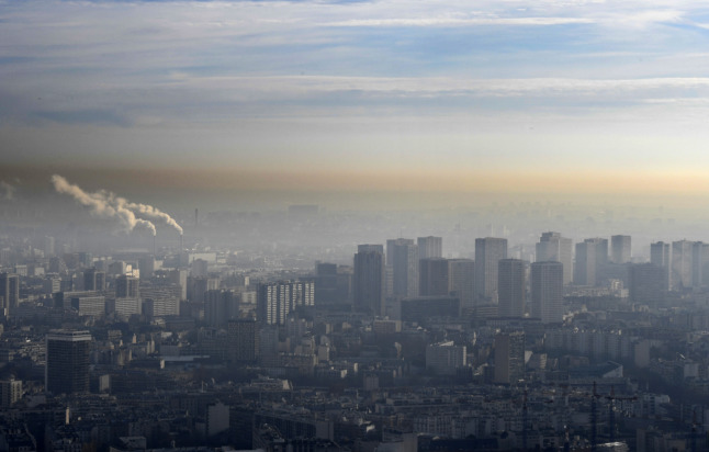 French court fines government record sum over air pollution