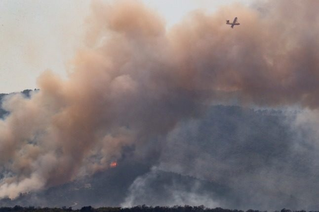 IN PICTURES: Thousands evacuated in southern France as 'fierce' wildfire spreads