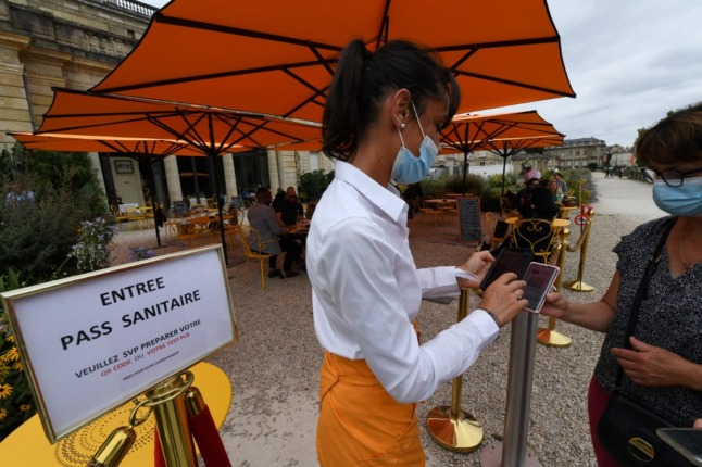 France expands its health passport scheme to include staff in cultural and leisure venues