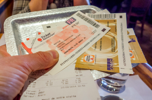 French workers face scramble to use up unspent restaurant vouchers