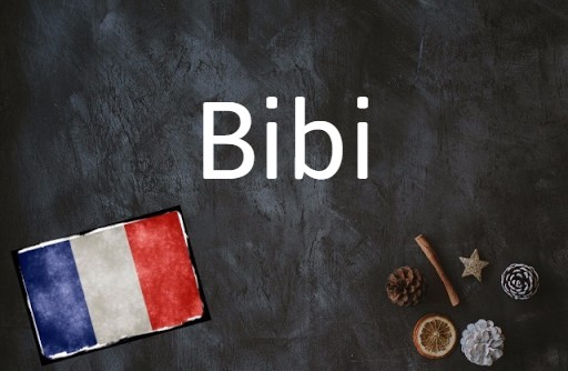 French word of the day: Bibi