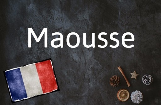 French word of the day: Maousse