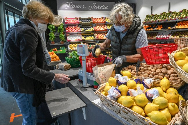 Food and fuel prices in France behind rise in cost of living