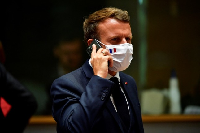 Warning after French president's health pass QR code revealed online