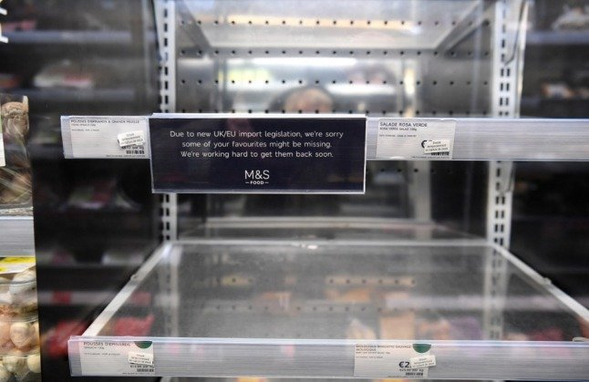 LATEST: Marks and Spencer closes French stores blaming Brexit problems