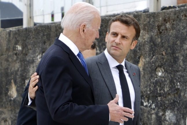 OPINION: Macron got concessions for France from Biden in the wake of submarine row