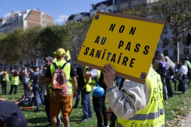 Yellow vest, fuel price and health pass protests planned in France on Saturday