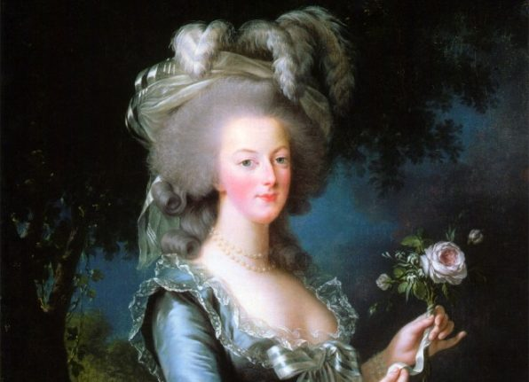 X-rays reveal hidden parts of Marie-Antoinette letters to suspected lover