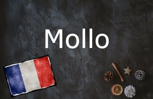 French word of the day: Mollo